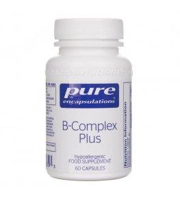 Pure Encapsulations B-Complex Plus - 60 kapsułek
