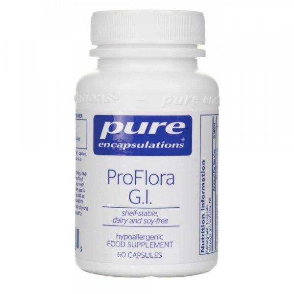 Pure Encapsulations ProFlora G.I. probiotyk - 60 kapsułek