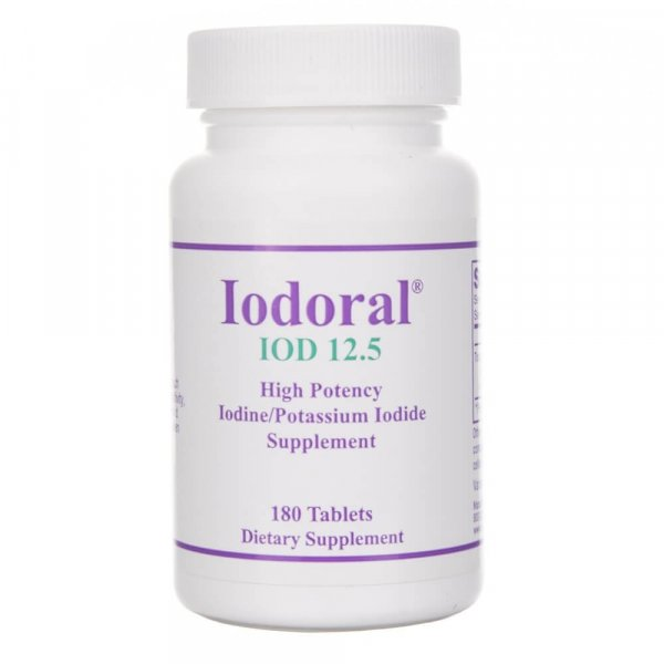 Optimox Iodoral® 12,5 mg - 180 tabletek