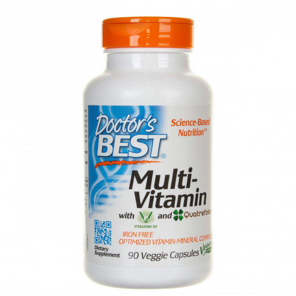 Doctor's Best Multiwitamina (Multivitamin) - 90 kapsułek