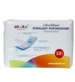 Akuku Podkłady poporodowe ultrachłonne - 10 sztuk