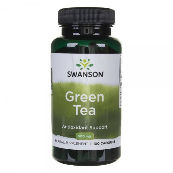 Swanson Green Tea (Zielona Herbata) 500 mg - 100 kapsułek