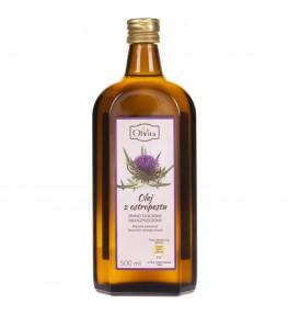 Olvita Olej z ostropestu tłoczony na zimno nieoczyszczony - 500 ml