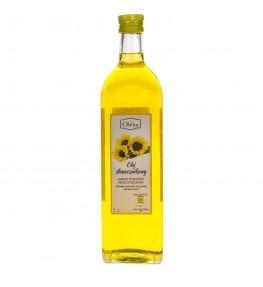 Olvita Olej słonecznikowy zimno tłoczony nieoczyszczony - 1000 ml