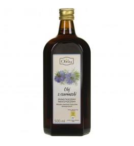 Olvita Olej z czarnuszki zimno tłoczony nieoczyszczony - 500 ml