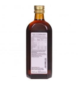 Olvita Olej z czarnuszki zimno tłoczony nieoczyszczony - 250 ml