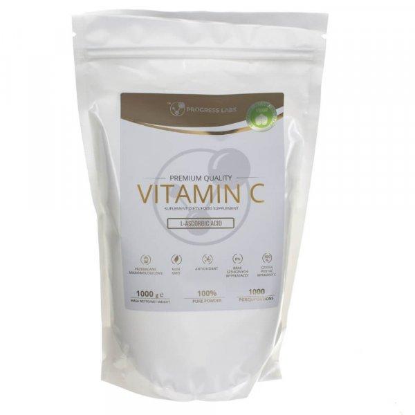 Progress Labs Witamina C Kwas L-Askorbinowy 1000 mg - 1 kg