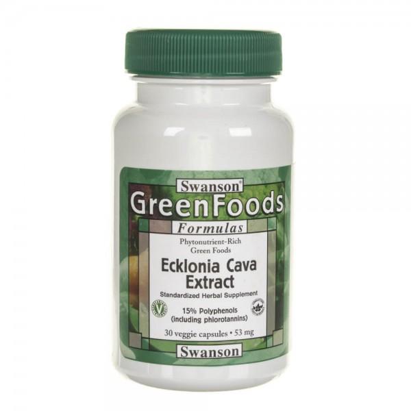 Swanson Ecklonia Cava ekstrakt 53 mg - 30 kapsułek