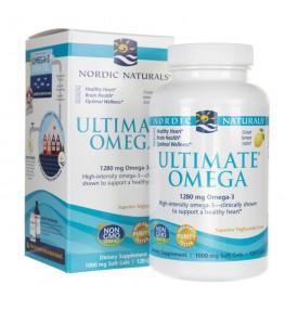 Nordic Naturals Ultimate Omega smak cytrynowy - 120 kapsułek