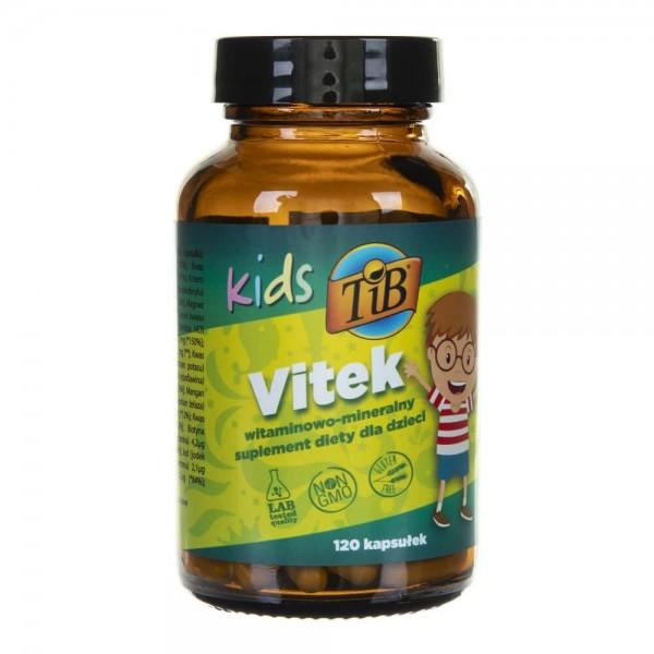 This is Bio Kids Vitek - 120 kapsułek
