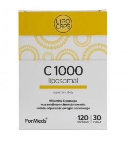 Formeds Lipocaps C 1000 - 120 kapsułek
