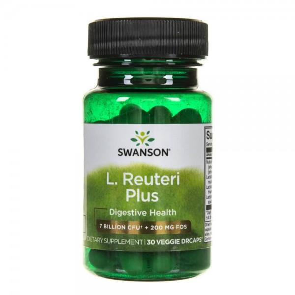 Swanson L.Reuteri (rhamnosus, acidophilus) probiotyk - 30 kapsułek