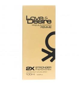 SHS Love & Desire Gold feromony dla kobiet - 100 ml