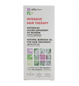 Elfa Pharm Intensive Hair Therapy Olejek łopianowy do włosów - 100 ml