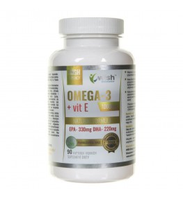 Wish Omega-3 1000 mg + Witamine E - 90 kapsułek