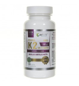 Wish Witamina K2 MK-7 z Natto 100 mcg - 120 tabletek