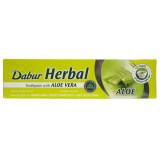 Dabur Pasta do zębów z aloesem bez fluoru Aloe Vera - 100 ml