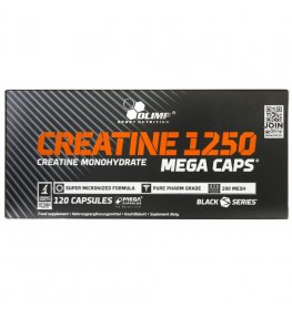 Olimp Creatine 1250 Mega Caps - 120 kapsułek