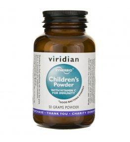Viridian Synbiotyk dla dzieci z Witaminą C - 50 g