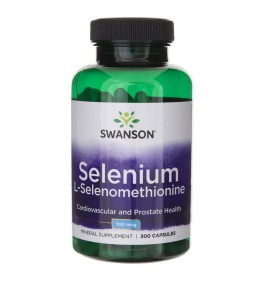 Swanson Selen (Selenometionina) 100 mcg - 300 kapsułek