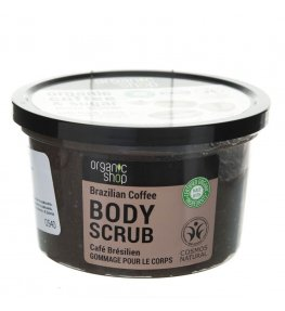 Organic Shop Scrub do ciała Brazylijska kawa - 250 ml