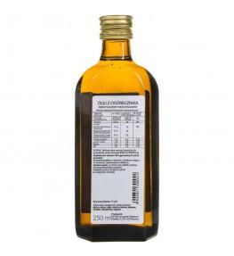 Olvita Olej z ogórecznika zimno tłoczony nieoczyszczony - 250 ml
