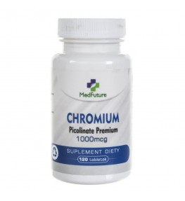 MedFuture Chrom 1000 mcg - 120 tabletek