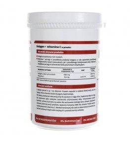 Noble Health Kolagen w proszku + Witamina C - 100 g