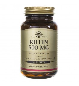 Solgar Rutyna 500 mg - 100 tabletek