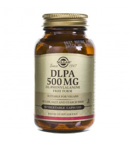 Solgar DLPA (DL-Fenyloalanina) 500 mg - 50 kapsułek