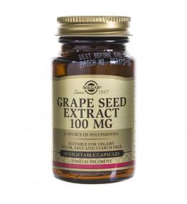 Solgar Pestki z winogron ekstrakt 100 mg - 30 kapsułek