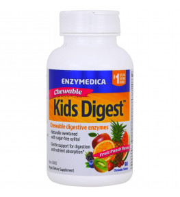 Enzymedica Kids Digest - 60 tabletek