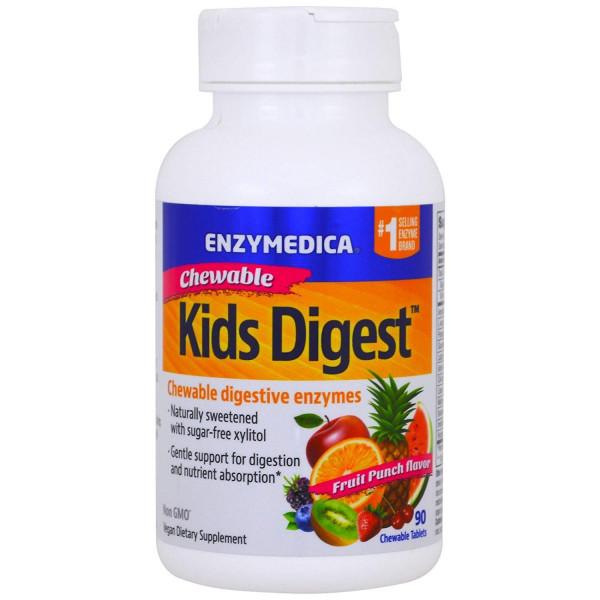 Enzymedica Kids Digest - 60 tabletek