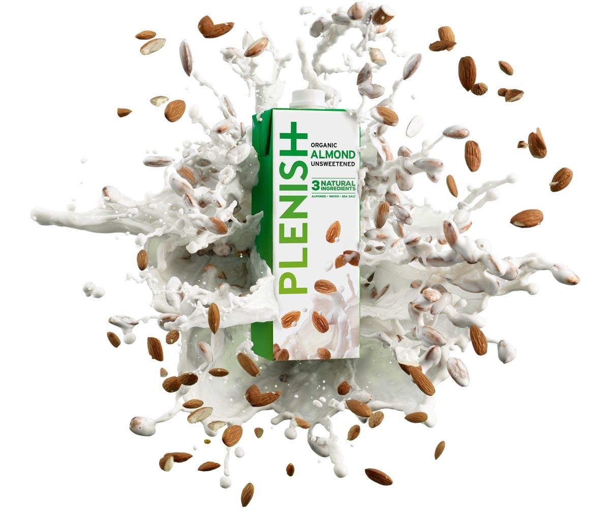 Plensih Organiczny Napój migdałowy niesłodzony - 1 L