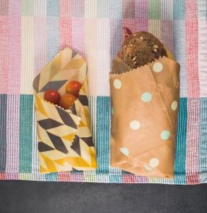 Biolavit Zestaw woskowijek do przechowywania żywności - 3 sztuki